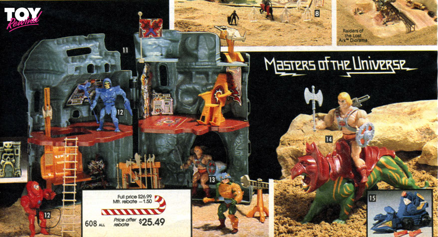Masters of the Universe 1982 - 1989 Toy Catalogs - ToyRewind
