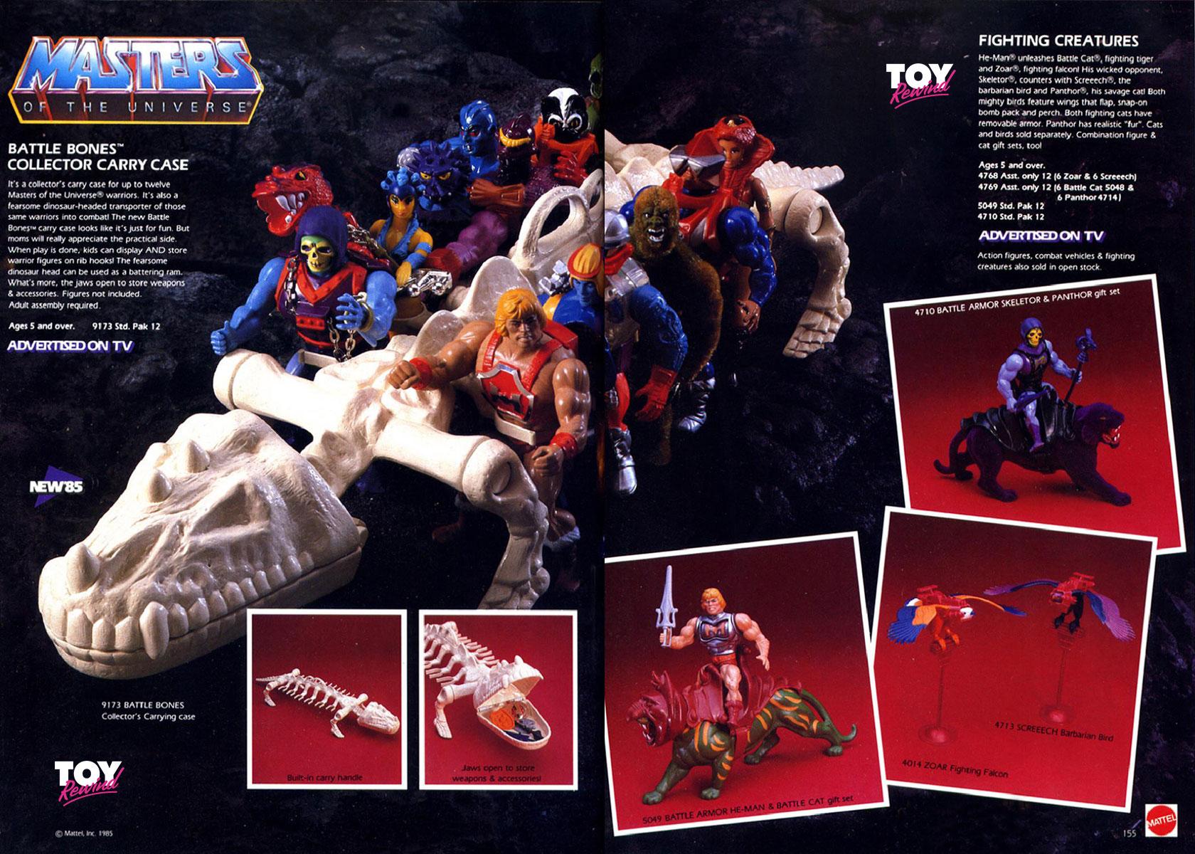 ZOAR /& SCHREECH ARMOUR Falcon Vintage 1983 He-Man Masters of the Universe