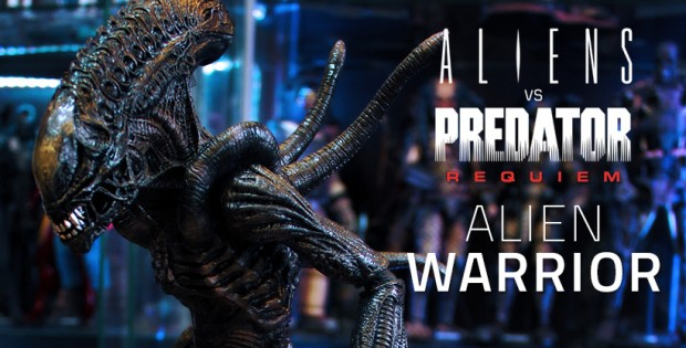 Hot Toys Aliens VS Predator : Requiem - Alien Warrior