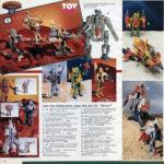 1986 Centurions Toy Catalog