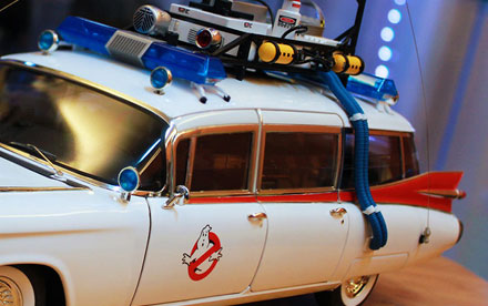 Hot Wheels Elite Ghostbusters Ecto-1 Unboxing & Assembly