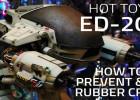 Hot Toys ED-209 - Prevent & fix rubber cracks