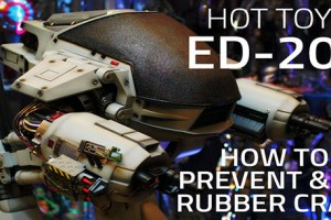 Hot Toys ED-209 - Prevent & fix rubber cracks
