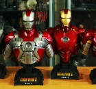 Hot Toys Iron Man 2 1:4 Scale Bust Collection