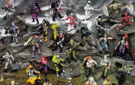 G.I. Joe Toy Catalogs 1982 – 1991