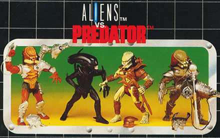 Aliens vs Predator Toy Catalogs & Commercials