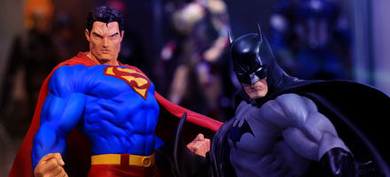 Kotobukiya ArtFX Superman & Batman 1:6 Scale PVC Statue