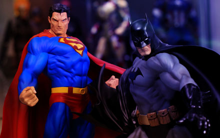Kotobukiya ArtFX Superman & Batman 1:6 Scale PVC Statue