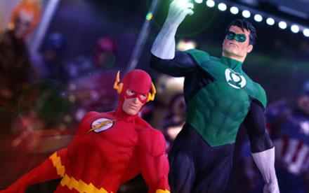 Kotobukiya ArtFX Flash & Green Lantern 1:6 Scale PVC Statue