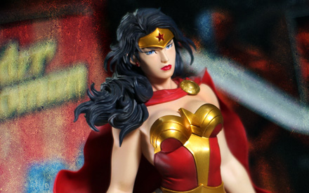Kotobukiya ArtFX Wonder Woman Unboxing Showcase