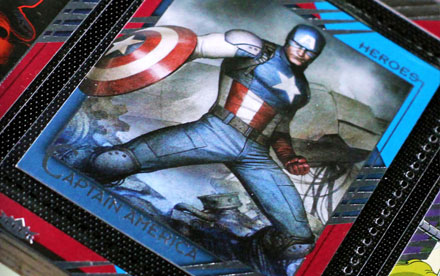 Marvel Universe Retro Trading Cards Fleer 2015