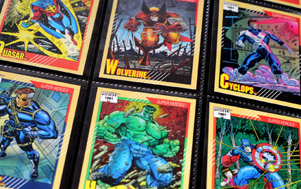 Marvel Universe Trading Cards Series 2 Impel 1991