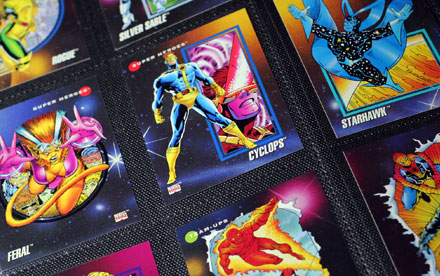 Marvel Universe Trading Cards Series 3 Impel 1992