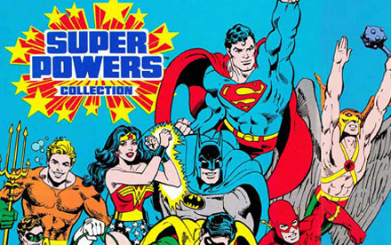 DC Comics Super Powers Toy Catalogs & Commercials