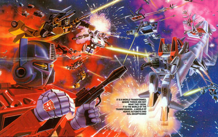 Transformers Toys 1984 – 1990 Catalogs