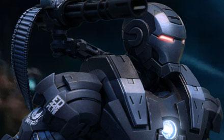 Hot Toys Iron Man 2 War Machine 1 Unboxing Showcase